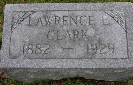 CLARK, LAWRENCE E. - Linn County, Iowa   LAWRENCE E. CLARK