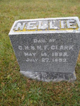 CLARK, NELLIE   (NELLIE MAY) - Linn County, Iowa | NELLIE   (NELLIE MAY) CLARK