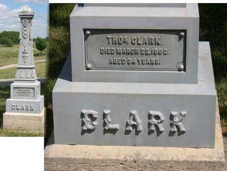 CLARK, THOS. - Linn County, Iowa | THOS. CLARK