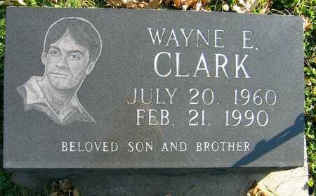 CLARK, WAYNE E. - Linn County, Iowa   WAYNE E. CLARK