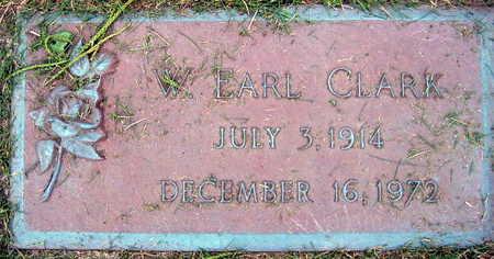 CLARK, W. EARL - Linn County, Iowa   W. EARL CLARK