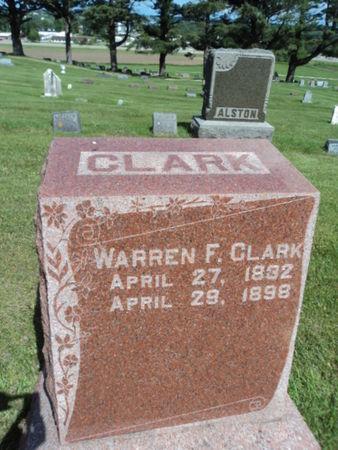 CLARK, WARREN F. - Linn County, Iowa | WARREN F. CLARK