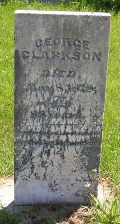 CLARKSON, GEORGE - Linn County, Iowa | GEORGE CLARKSON