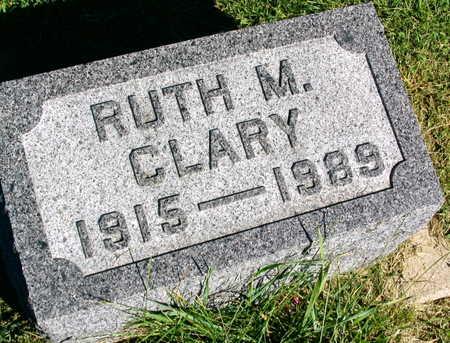 CLARY, RUTH M. - Linn County, Iowa | RUTH M. CLARY