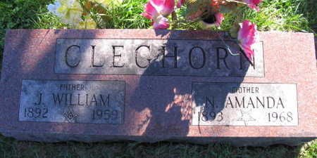 CLEGHORN, J. WILLIAM - Linn County, Iowa | J. WILLIAM CLEGHORN