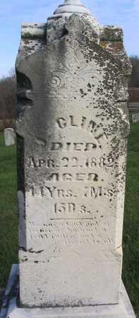 CLINE, J. - Linn County, Iowa   J. CLINE