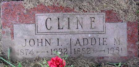 CLINE, ADDIE M. - Linn County, Iowa | ADDIE M. CLINE