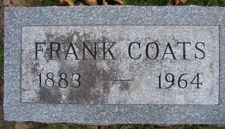 COATS, FRANK - Linn County, Iowa | FRANK COATS