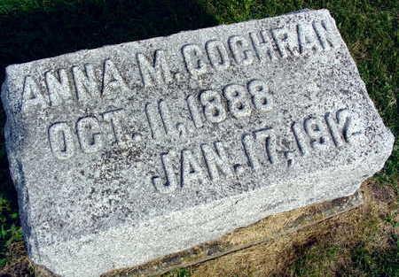 COCHRAN, ANNA M. - Linn County, Iowa   ANNA M. COCHRAN