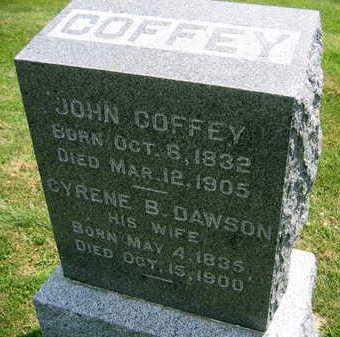 COFFEY, CYRENE B. - Linn County, Iowa | CYRENE B. COFFEY