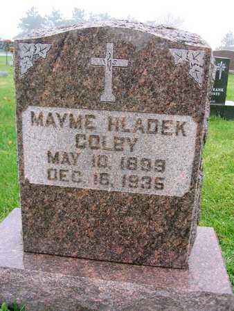 HLADEK COLBY, MAYME - Linn County, Iowa | MAYME HLADEK COLBY