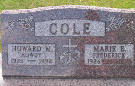 COLE, HOWARD M.