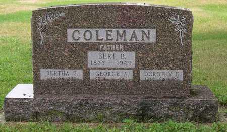 COLEMAN, GEORGE A. - Linn County, Iowa | GEORGE A. COLEMAN