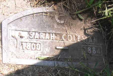 COLEMAN, SARAH - Linn County, Iowa   SARAH COLEMAN