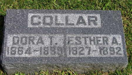 COLLAR, ESTHER A. - Linn County, Iowa | ESTHER A. COLLAR