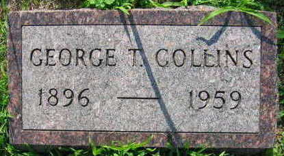 COLLINS, GEORGE T. - Linn County, Iowa | GEORGE T. COLLINS