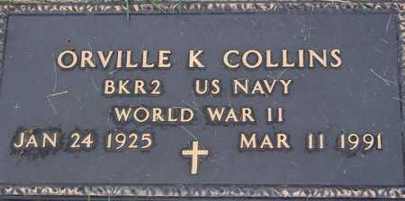 COLLINS, ORVILLE K - Linn County, Iowa | ORVILLE K COLLINS