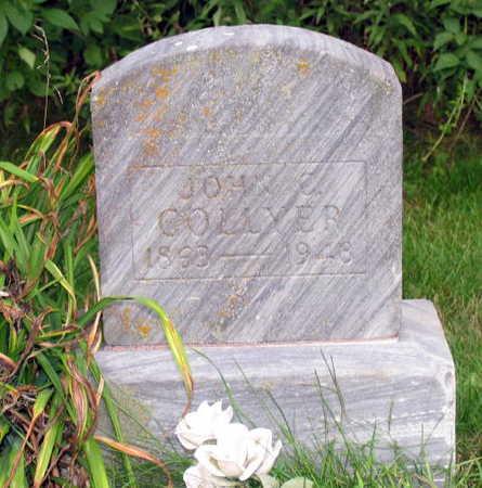 COLLYER, JOHN C. - Linn County, Iowa   JOHN C. COLLYER