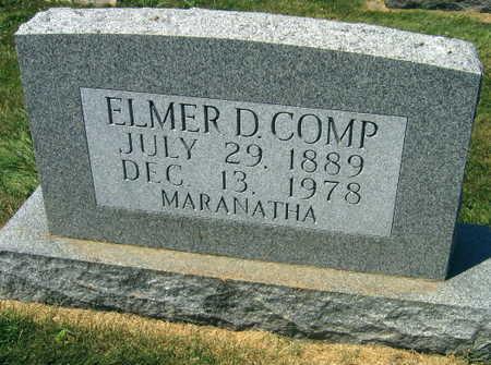 COMP, ELMER D. - Linn County, Iowa | ELMER D. COMP