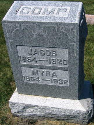 COMP, JACOB - Linn County, Iowa   JACOB COMP