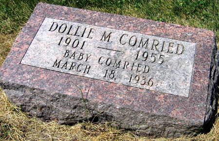 COMRIED, DOLLIE M. - Linn County, Iowa | DOLLIE M. COMRIED