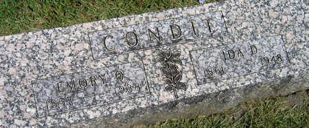 CONDIT, EMORY O. - Linn County, Iowa | EMORY O. CONDIT