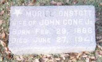 ONSTOTT CONE, MURIEL - Linn County, Iowa | MURIEL ONSTOTT CONE