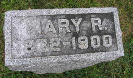 CONLEY, MARY R. - Linn County, Iowa | MARY R. CONLEY