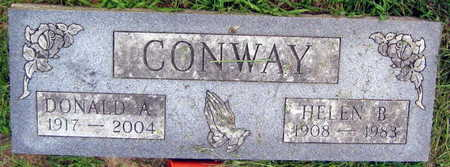 CONWAY, DONALD A. - Linn County, Iowa | DONALD A. CONWAY