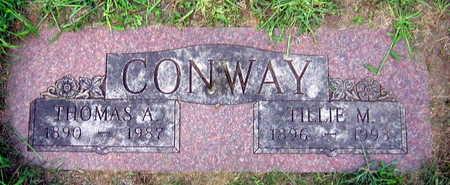 CONWAY, TILLIE M. - Linn County, Iowa | TILLIE M. CONWAY