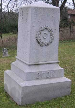 COOK, FAMILY STONE - Linn County, Iowa | FAMILY STONE COOK