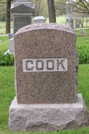 COOK, FAMILY STONE - Linn County, Iowa | FAMILY STONE COOK