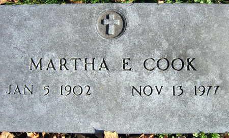 COOK, MARTHA E. - Linn County, Iowa | MARTHA E. COOK