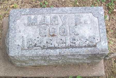 COOK, MARY E. - Linn County, Iowa | MARY E. COOK