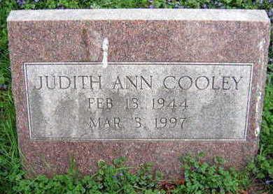COOLEY, JUDITH ANN - Linn County, Iowa   JUDITH ANN COOLEY
