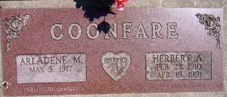 COONFARE, HERBERT A. - Linn County, Iowa   HERBERT A. COONFARE