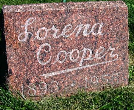 COOPER, LORENA - Linn County, Iowa   LORENA COOPER