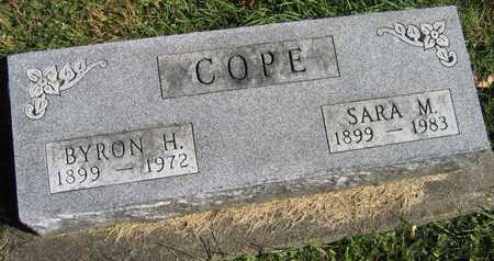COPE, BYRON H. - Linn County, Iowa | BYRON H. COPE