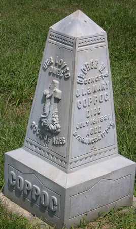 COPPOC, GEORGE W. F. - Linn County, Iowa | GEORGE W. F. COPPOC