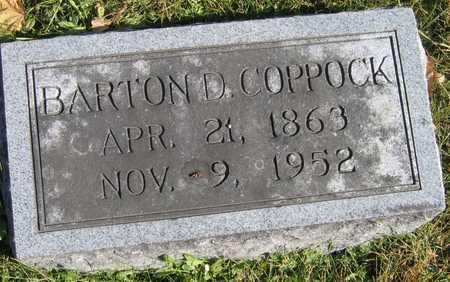 COPPOCK, BARTON D. - Linn County, Iowa | BARTON D. COPPOCK