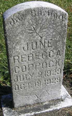 COPPOCK, JUNE REBECCA - Linn County, Iowa | JUNE REBECCA COPPOCK