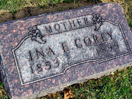 COREY, INA E. - Linn County, Iowa | INA E. COREY