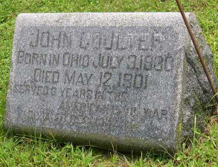 COULTER, JOHN - Linn County, Iowa | JOHN COULTER