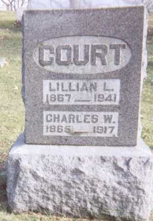 COURT, CHARLES W. - Linn County, Iowa | CHARLES W. COURT