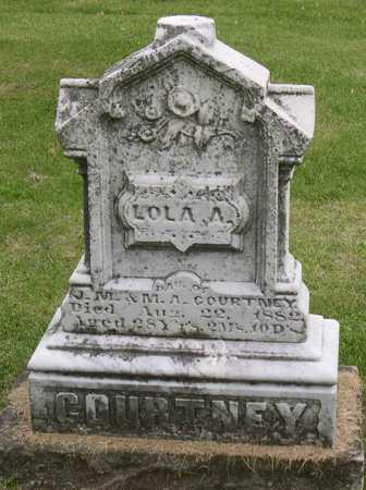 COURTNEY, LOLA A. - Linn County, Iowa | LOLA A. COURTNEY