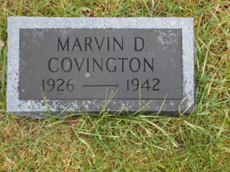 COVINGTON, MARVIN D. - Linn County, Iowa | MARVIN D. COVINGTON