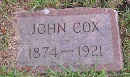 COX, JOHN - Linn County, Iowa | JOHN COX