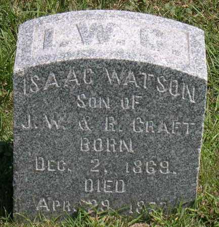 CRAFT, ISAAC WATSON - Linn County, Iowa | ISAAC WATSON CRAFT