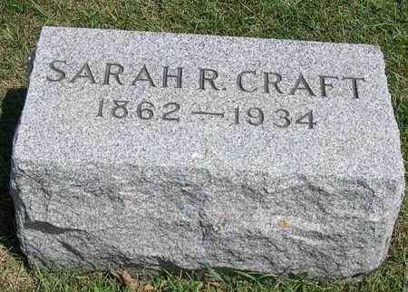 CRAFT, SARAH R. - Linn County, Iowa   SARAH R. CRAFT
