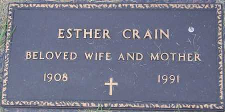 CRAIN, ESTHER - Linn County, Iowa | ESTHER CRAIN
